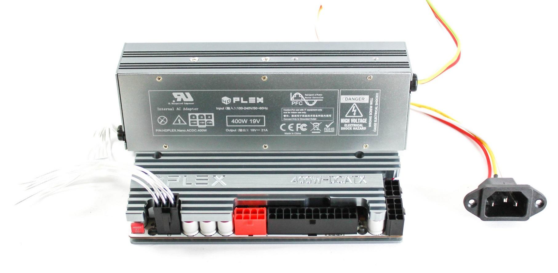HDPLEX 400W NanoATX Combo