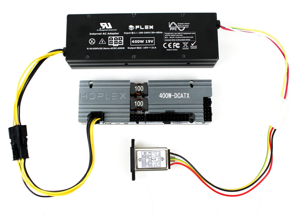 Hdplex 400w Ac Dc Internal Adapter With Pfc Home Wiring Is Best To Work Hifi Atx This Powerful Nanoatx Combo Power Supply Can Drive System Hi End Video Card Like