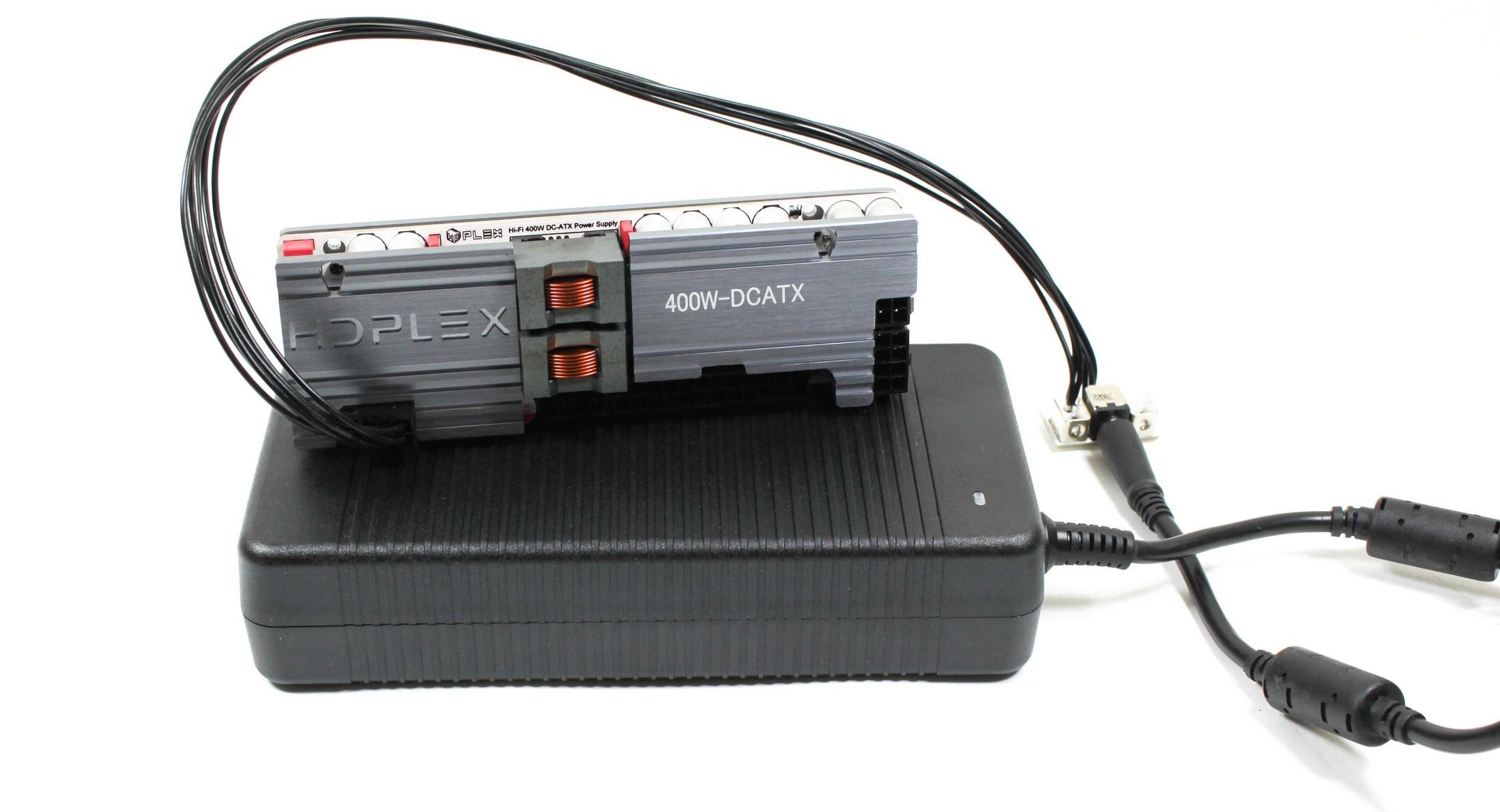 Convertitore DC-ATX Hi-Fi HDPLEX da 400 W