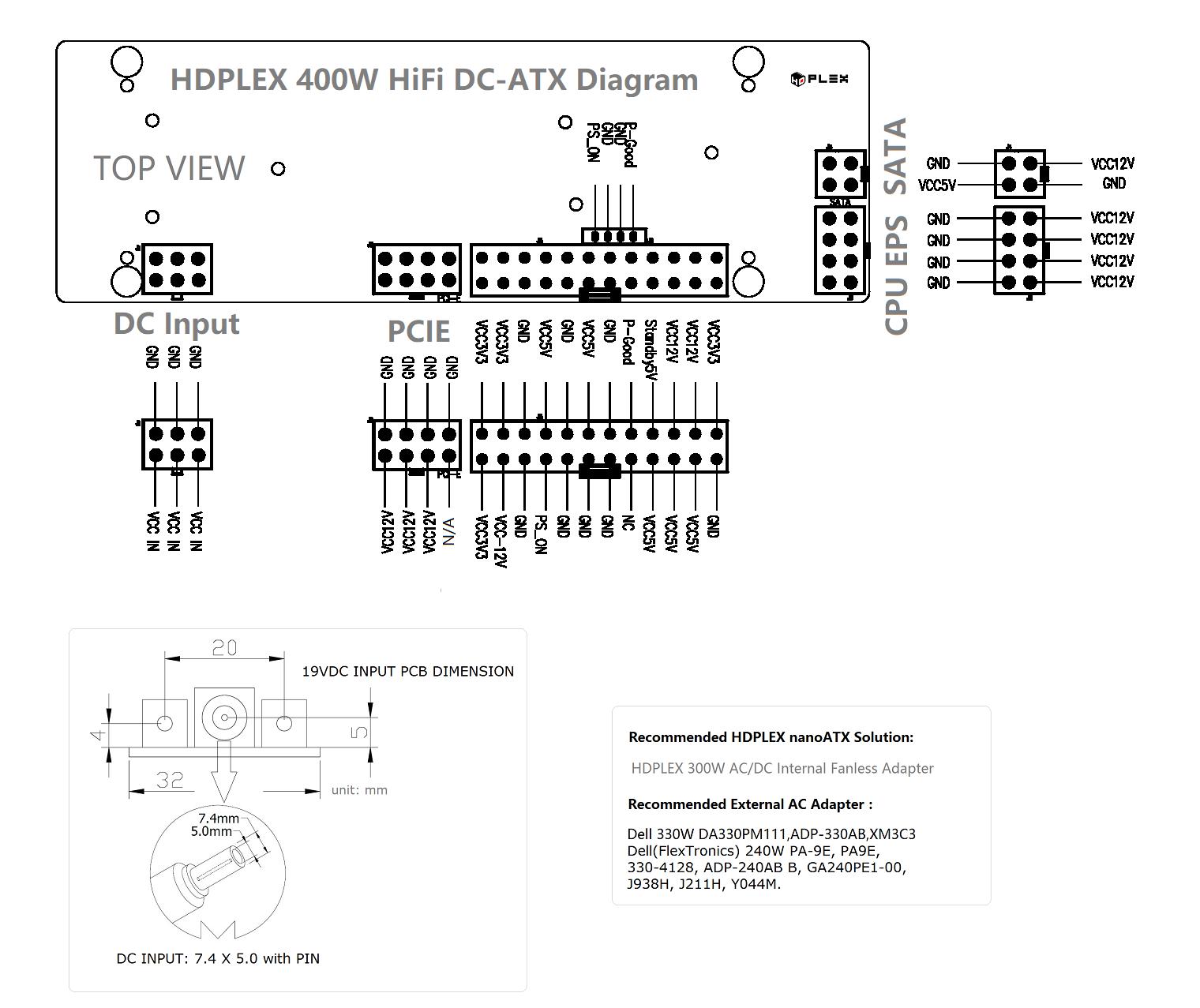 Hdplex 400w Hifi Dc